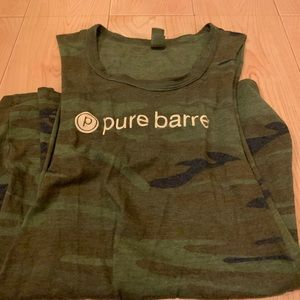 Pure Barre Army Tank